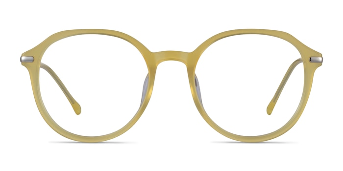 Original Iridescent Yellow Acetate Eyeglass Frames from EyeBuyDirect