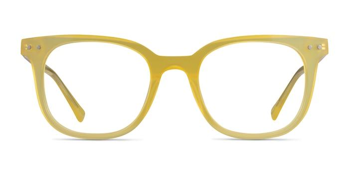 Kaleidoscope Iridescent Yellow Acetate Eyeglass Frames from EyeBuyDirect