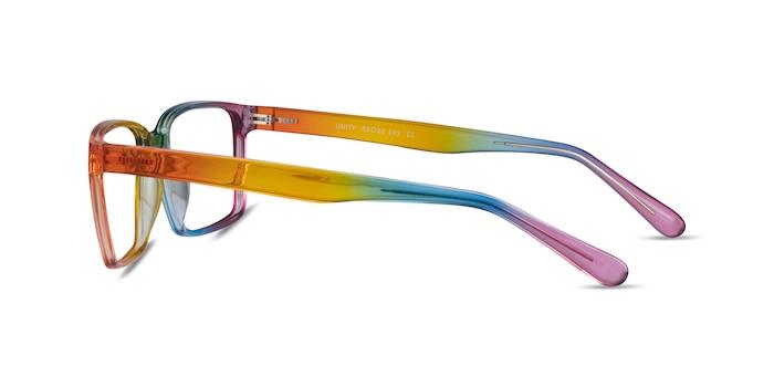 Unity Rainbow Plastic Eyeglass Frames from EyeBuyDirect