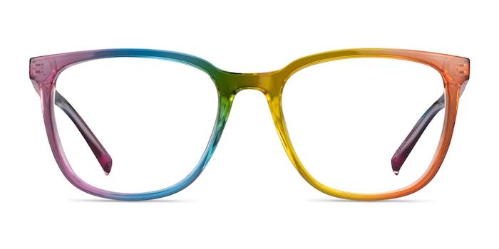 Optimist Rainbow Plastic Eyeglass Frames from EyeBuyDirect
