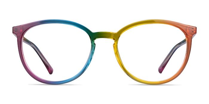 Joyful Rainbow Plastic Eyeglass Frames from EyeBuyDirect