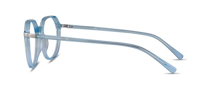 Niagara Clear Blue Acetate Eyeglass Frames from EyeBuyDirect