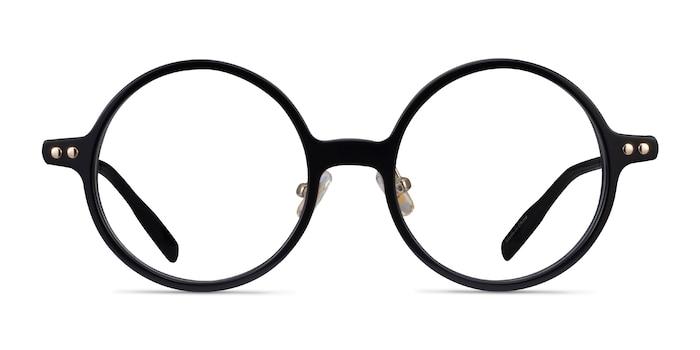Greenwich Black Acetate Eyeglass Frames from EyeBuyDirect