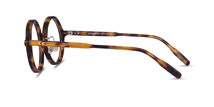 Greenwich Tortoise Acetate Eyeglass Frames from EyeBuyDirect