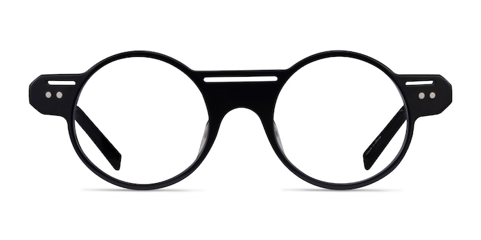 Marengo Black Acetate Eyeglass Frames from EyeBuyDirect