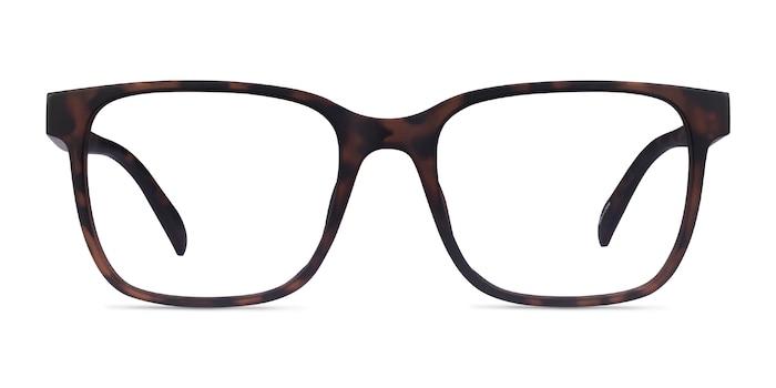 Alder Matte Tortoise Plastic Eyeglass Frames from EyeBuyDirect