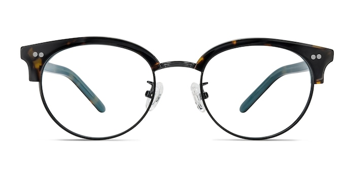Annabel Tortoise Acetate-metal Eyeglass Frames from EyeBuyDirect