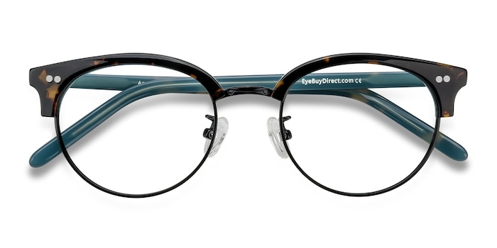 Tortoise Annabel -  Classic Plastic Eyeglasses