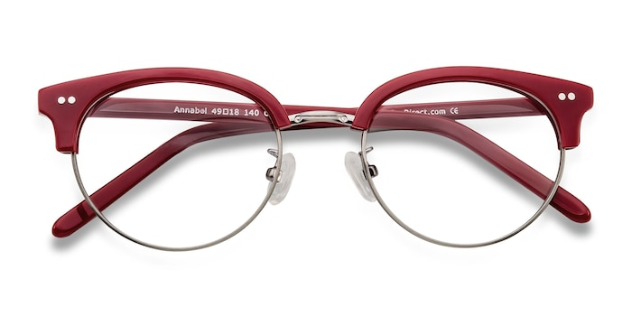 Red Annabel -  Vintage Acetate Eyeglasses