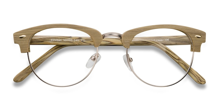 Yellow Esteban -  Fashion Metal Eyeglasses