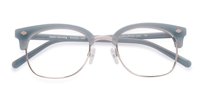 Blue  Japan Morning -  Vintage Acetate Eyeglasses
