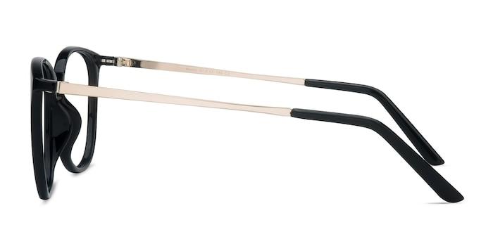 Naomi Black Plastic-metal Eyeglass Frames from EyeBuyDirect