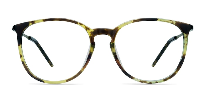Naomi Tortoise Plastic-metal Eyeglass Frames from EyeBuyDirect
