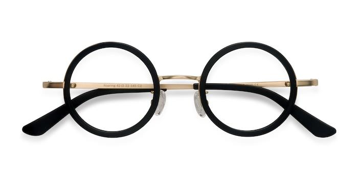 Black Roaring -  Vintage Acetate Eyeglasses