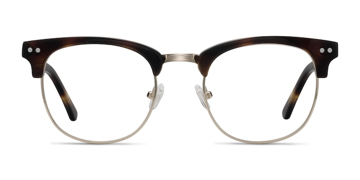 Borderline Tortoise Acetate-metal Eyeglass Frames from EyeBuyDirect