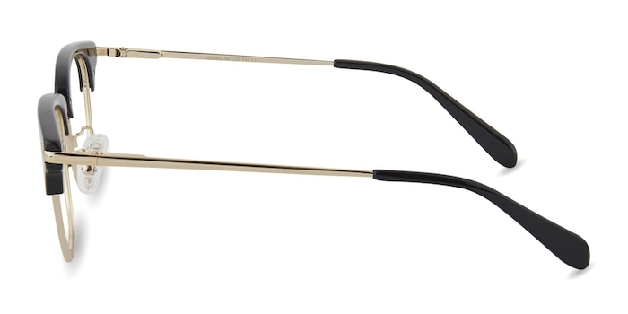 Identity Black Acetate-metal Eyeglass Frames from EyeBuyDirect