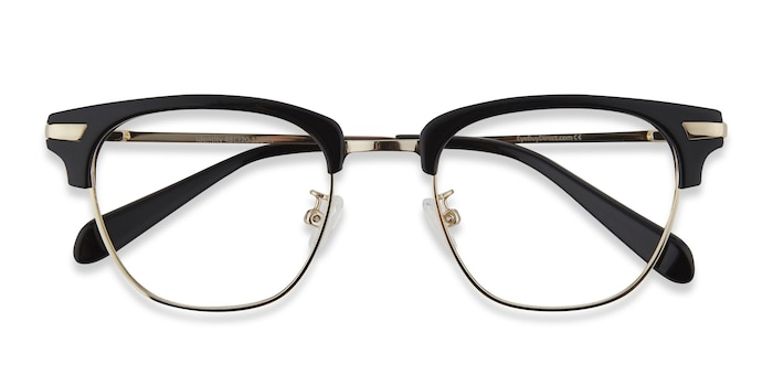Black Identity -  Acetate, Metal Eyeglasses