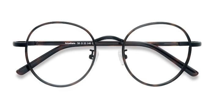 Dark Tortoise Anywhere -  Designer Acetate Eyeglasses