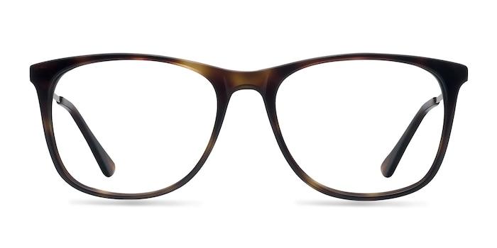 Contrast Tortoise Acetate-metal Eyeglass Frames from EyeBuyDirect