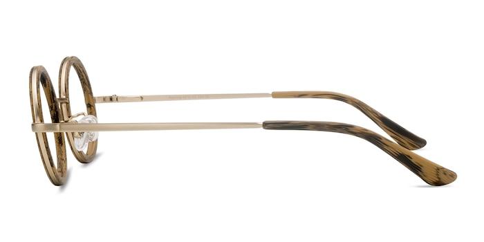 Roaring Marron Acetate-metal Montures de Lunette de vue d'EyeBuyDirect
