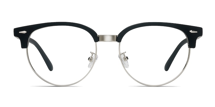 Narita Matte Black Plastic-metal Eyeglass Frames from EyeBuyDirect