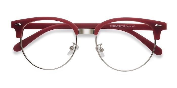 Red Narita -  Vintage Metal Eyeglasses
