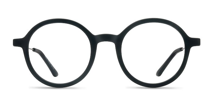 Potter Matte Black Plastic-metal Montures de Lunette de vue d'EyeBuyDirect