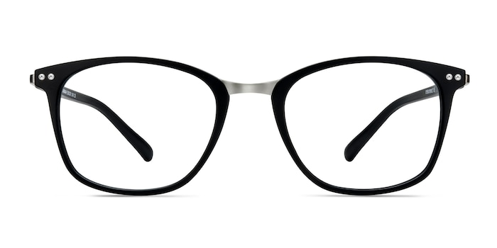Savannah Matte Black Plastic-metal Eyeglass Frames from EyeBuyDirect