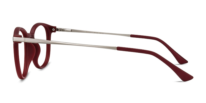 Mirando Raspberry Plastic-metal Eyeglass Frames from EyeBuyDirect