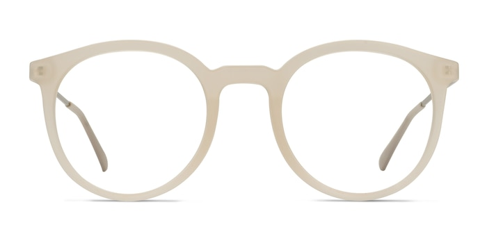 Grin Matte Clear Plastic-metal Eyeglass Frames from EyeBuyDirect