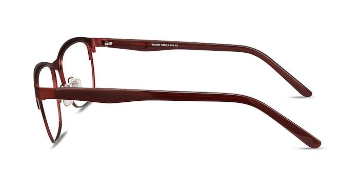Volary Red Acetate-metal Eyeglass Frames from EyeBuyDirect