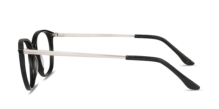 Eros Black Acetate-metal Eyeglass Frames from EyeBuyDirect