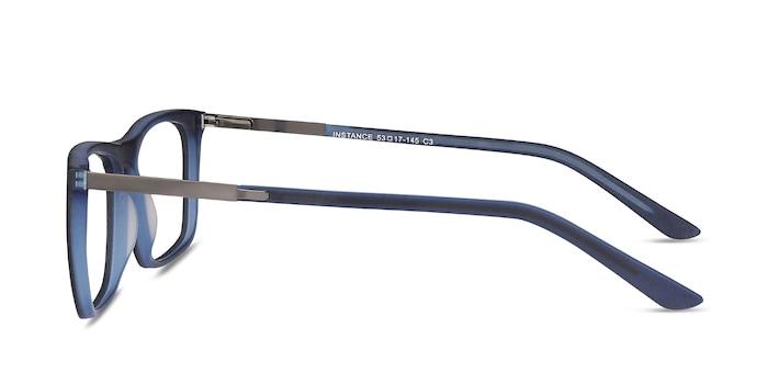 Instance Blue Acetate-metal Eyeglass Frames from EyeBuyDirect