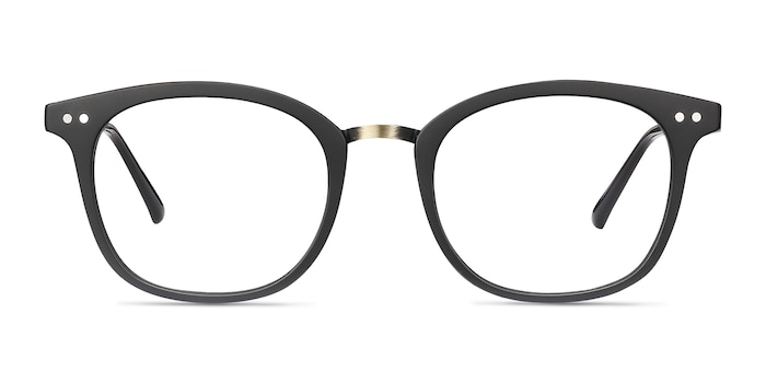 Lyric Black Plastic Eyeglass Frames from EyeBuyDirect