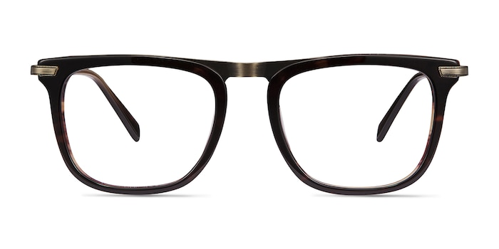 Kompa Tortoise Acetate-metal Eyeglass Frames from EyeBuyDirect