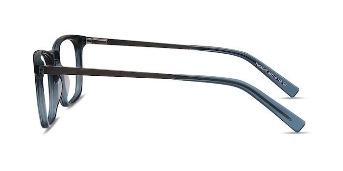 Tuesday Green Acetate-metal Eyeglass Frames from EyeBuyDirect