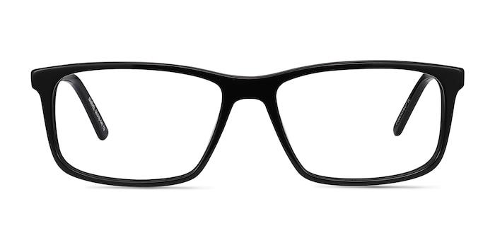 Marvel Black Acetate Eyeglass Frames from EyeBuyDirect