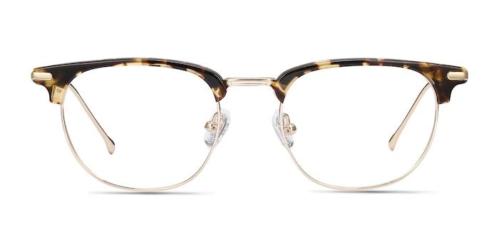 Relive Tortoise Golden Acetate-metal Eyeglass Frames from EyeBuyDirect