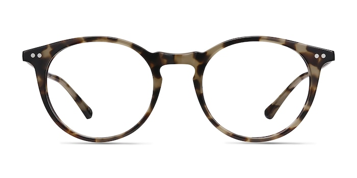 Luminous Tortoise Acetate-metal Eyeglass Frames from EyeBuyDirect