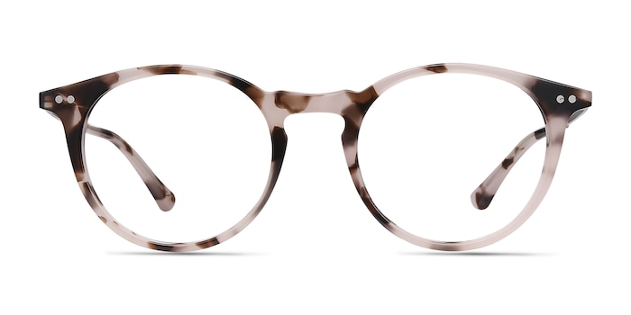 Luminous Pink Tortoise Acetate-metal Eyeglass Frames from EyeBuyDirect
