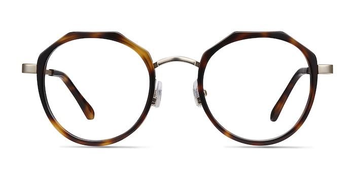 Accent Tortoise Acetate-metal Eyeglass Frames from EyeBuyDirect