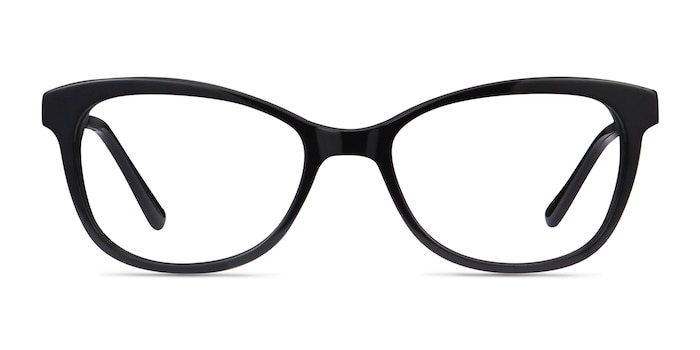 Ripple Black Acetate-metal Eyeglass Frames from EyeBuyDirect