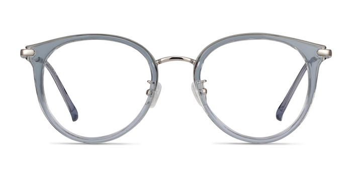 Hollie Blue Plastic-metal Eyeglass Frames from EyeBuyDirect