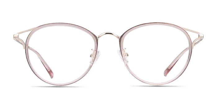 Dazzle Pink Acetate-metal Eyeglass Frames from EyeBuyDirect