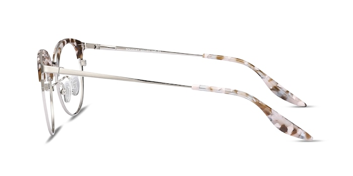 Bouquet Floral Silver Acetate-metal Eyeglass Frames from EyeBuyDirect