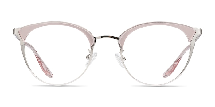 Bouquet Pink Silver Acetate-metal Eyeglass Frames from EyeBuyDirect