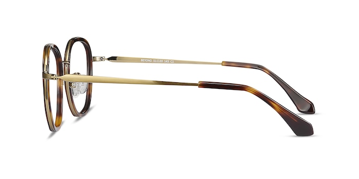 Beyond  Tortoise Acetate-metal Eyeglass Frames from EyeBuyDirect