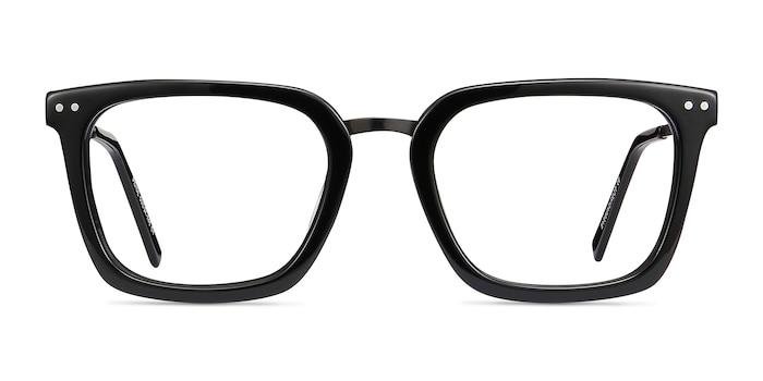 Poise Black Acetate-metal Eyeglass Frames from EyeBuyDirect
