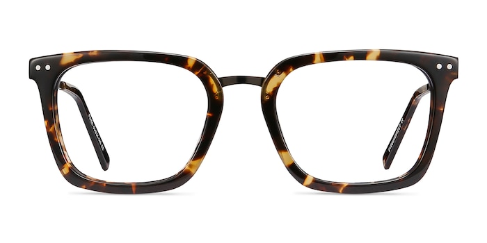Poise Tortoise Acetate-metal Eyeglass Frames from EyeBuyDirect