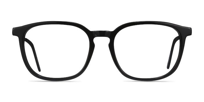 Esquire Black Acetate Eyeglass Frames from EyeBuyDirect